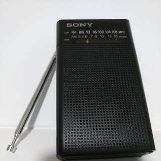 SONY FM/AM RADIO 收音机