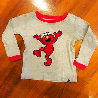 Baby GAP Elmo long sleeves t-shirt