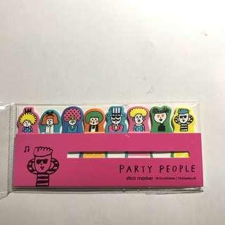 Cute stick markers