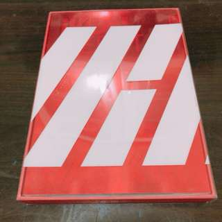 iKON Debut Full Album 'Welcome Back' red ver