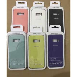 Original Samsung s8 and s8 plus silicon case