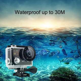 Action Camera (4K+2.4G Remote) Panoramic 360 Degree View