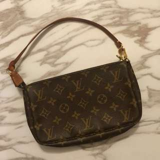 LV classic  mini bag with long chain