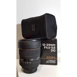 SIGMA EX 12-24MM F4.5-5.6 DG HSM