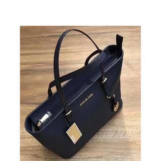 Michael Kors Tote Bag - Navy Blue