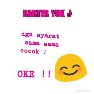 Open barter !:)