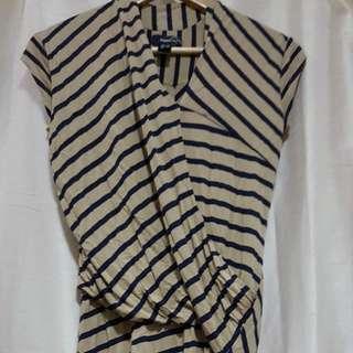 MANGO Overlap Dress