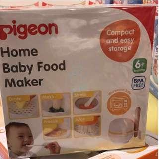 Pigeon baby food maker weaning bb 加固 嬰兒 食品 研磨 工具 blender avent