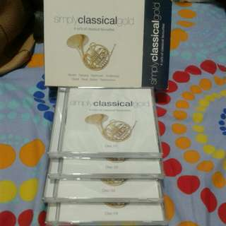 Simply classical gold cd