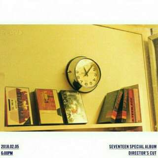 🌷 [GO] SEVENTEEN SPECIAL ALBUM DIRECTOR'S CUT