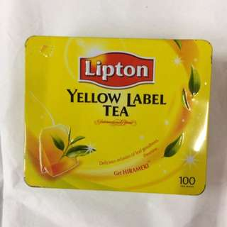 Lipton Tea vintage box