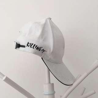 KILLING IT WHITE CAP