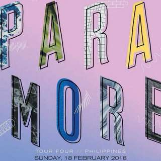 paramore tour four manila ub ticket ☆