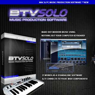 BTV Recording Software Music Production
