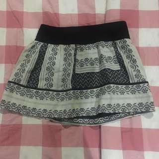 zara pattern skirt