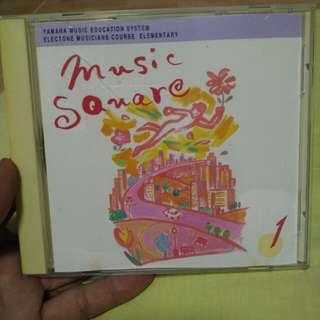 Music CD square