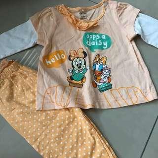 Disney 6-12mth clothes