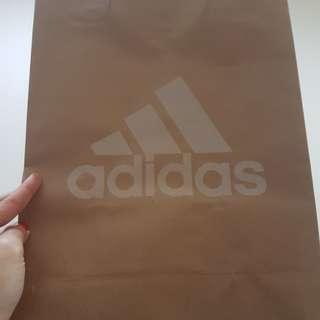 Adidas Paper Bag