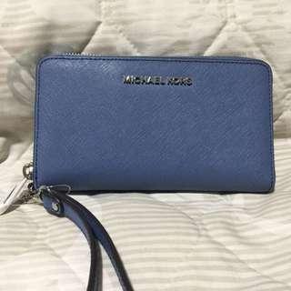 Michael Kors Jet Set Travel Leather phone case wallet