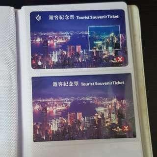 遊客紀念票(夜景)