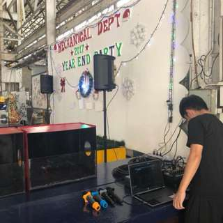 SOUND SYSTEM RENTAL FOR COMPANY PARTY