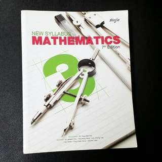 Sec 3 Mathematics Textbook