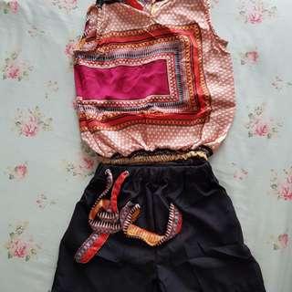 Kids - Girl Short Sleeve with Pants