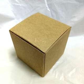 Kraft Cube Box