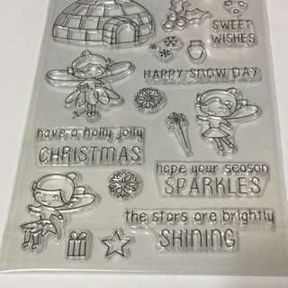 Fairy Christmas Clear Stamps