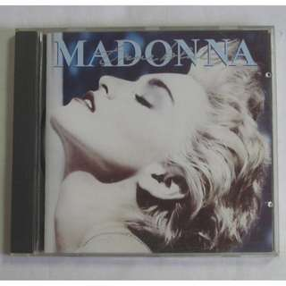 Madonna True Blue 1986 Sire Records English CD 925 442-2 Made In Germany