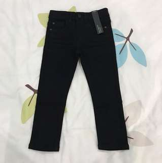 NEW Next black jeans (skinny fit) 3Y
