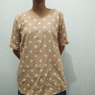 Polcadot blouse