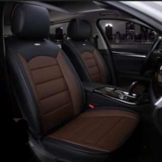 [Ready Stock] Danny Leather Car Seat Cushion Cover 5D Surround