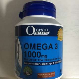 Omega 3 Fish Oil soft gels
