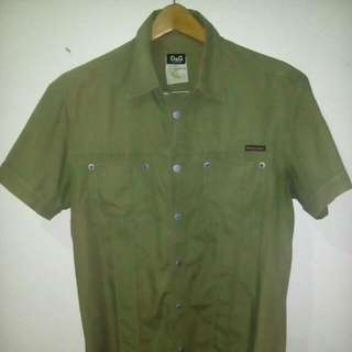 kemeja D&G ORI made in Italy size L