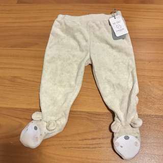 BN Mothercare Baby Footed Pants Leggings