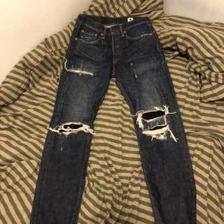 Levi's 501 made in japan