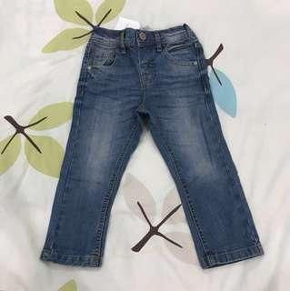 NEW Next slim jeans 12-18m