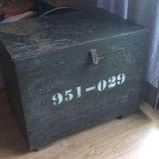 老檜木國軍用箱
