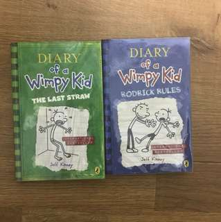 Diary Of A Wimpy Kid(The Last Straw and Rodrick Rules)