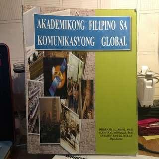 Akademikong Filipino sa komunikasyong global