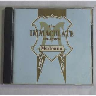 Madonna The Immaculate Collection 1990 Sire Records English CD 7599-26440-2 Made In Germany