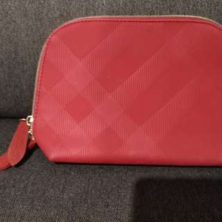 BURBERRY BEAUTY POUCH