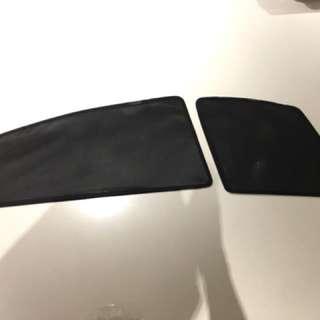 Toyota Harrier magnetic sunshade