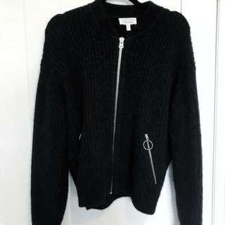 & Other Stories charcoal grey sweater