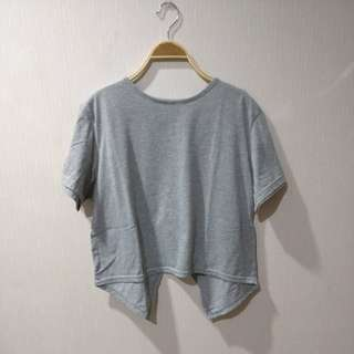 Grey bangkok top crop