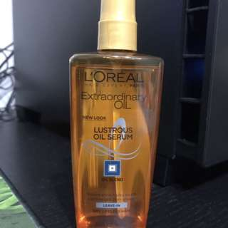 L'Oréal Extraordinary Oil Lustrous Oil Serum