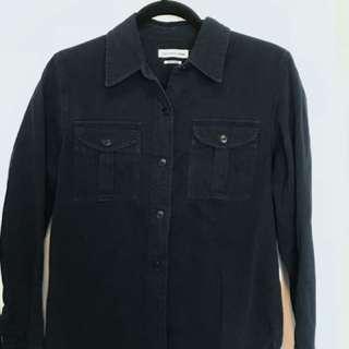 Isabel Marant Etoile navy shirt