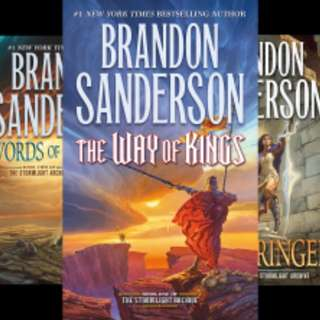 The Stormlight Archive by Brandan Sanderson (3 Books)