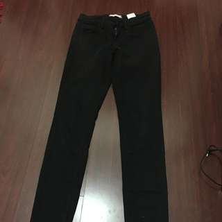 Black Uniqlo Skinny Jeans